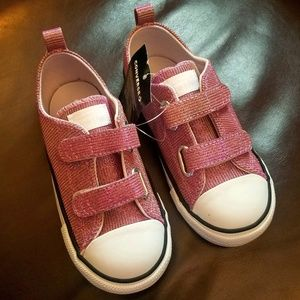 Iridescent Girls Converse All Stars 10 Sparkle NWT